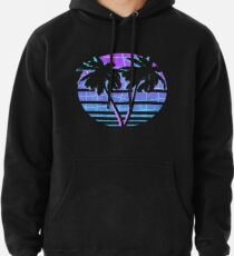 Palm Trees Pullover Hoodie