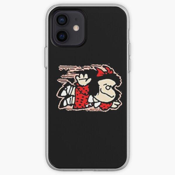 Mafalda Quino Funda blanda para iPhone