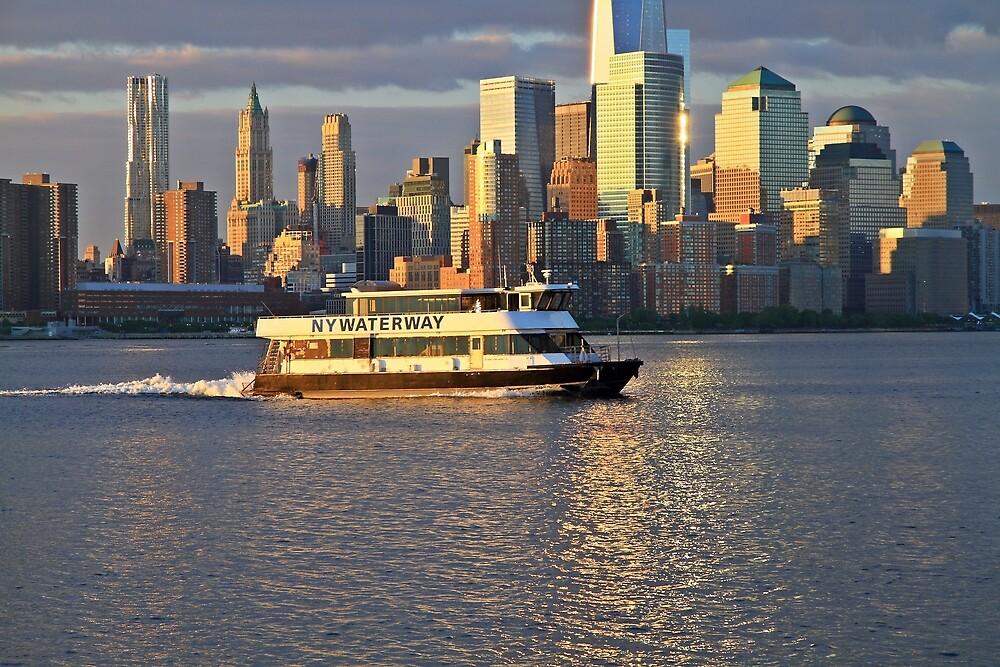 NY Waterway Ferry by pmarella