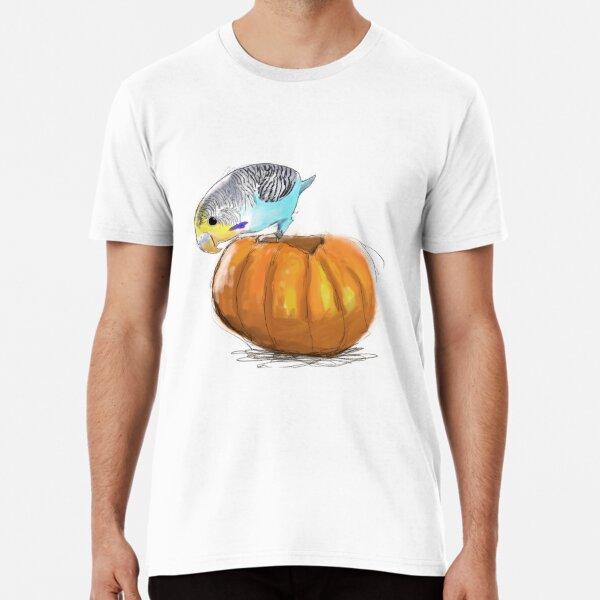 Halloween Budgie Premium T-Shirt