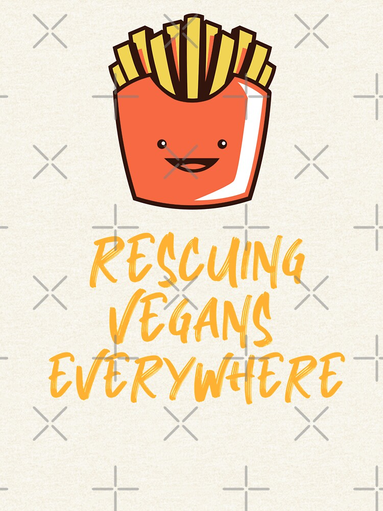 Rescuing Vegans Everywhere with Fries by nikkihstokes
