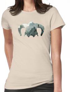 Elder Scrolls - Helmet - Mountains Womens Fitted T-Shirt