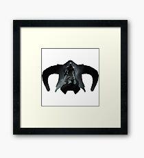 Elder Scrolls - Helmet - Dragonborn Framed Print