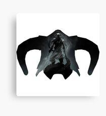 Elder Scrolls - Helmet - Dragonborn Canvas Print