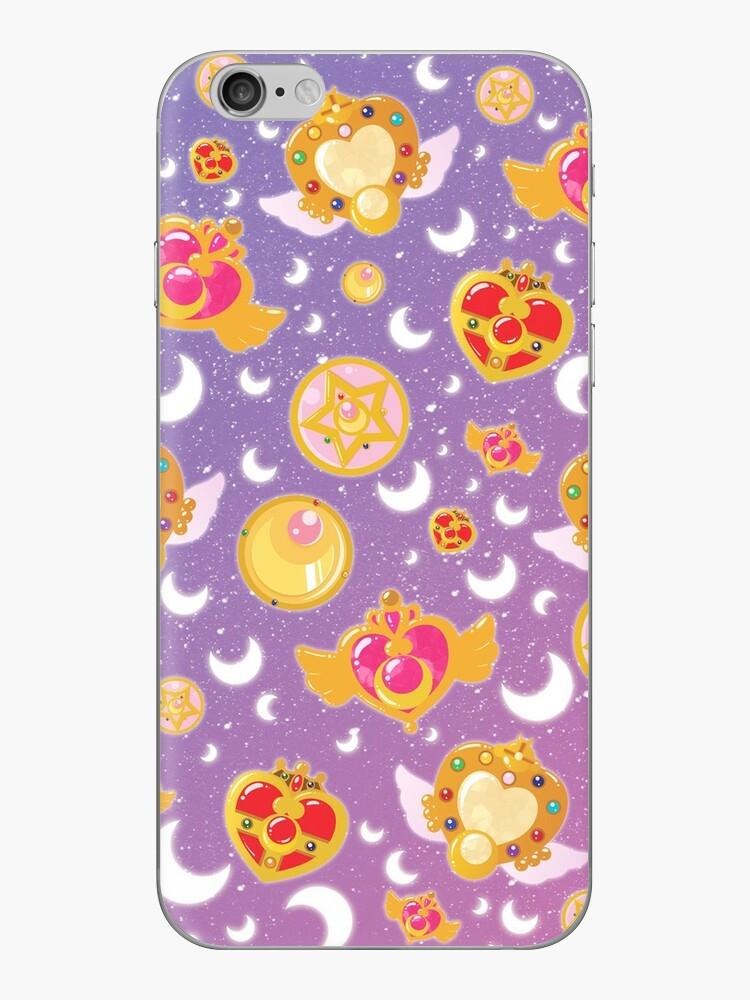 Sailor Moon Locket Pattern Case von boundbyribbon