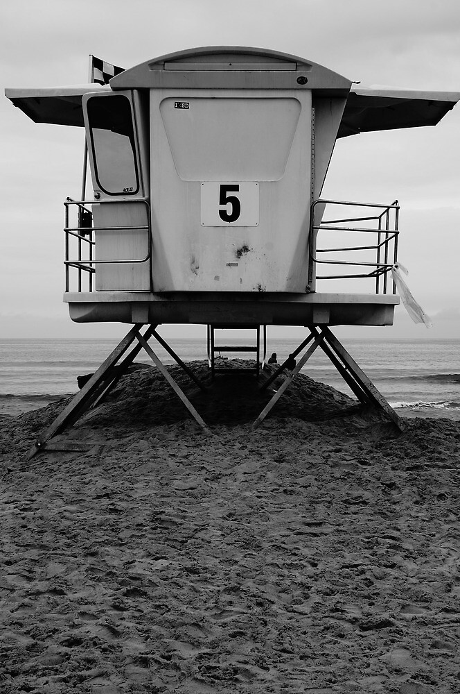 Life Guard Tower by thebrada