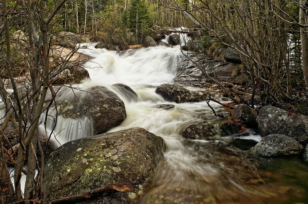 """""""Glacier Creek #4"""" RMNP by Johnny Gomez by johnny gomez"""