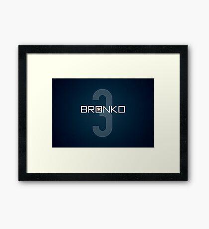 Bronko Framed Print