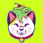 Cupcake Maneki-neko by CupcakeCreature