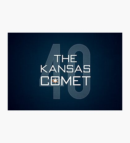 The Kansas Comet Photographic Print