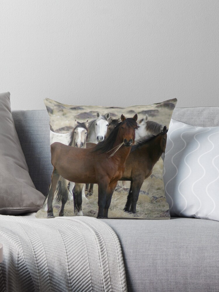 The Wild Ones Pillow & Tote Bag by Gene Praag