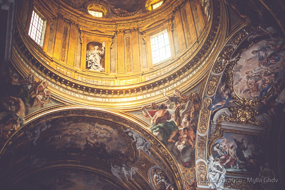 Basilica di Sao Ignacio by Mylla Ghdv