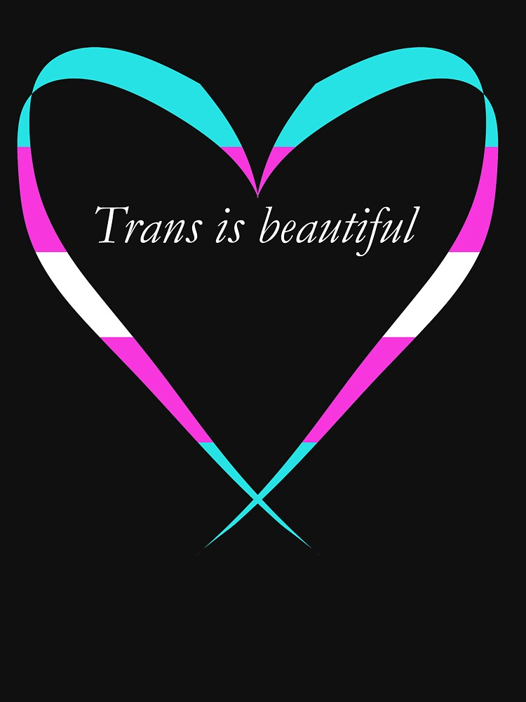 Trans Is Beautiful Heart by EmmaMelgoza