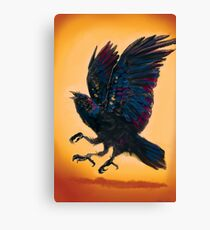 Three Eye'd Raven  Canvas Print