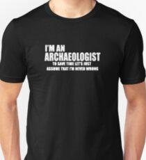 Archaeologist Logo Unisex T-Shirt