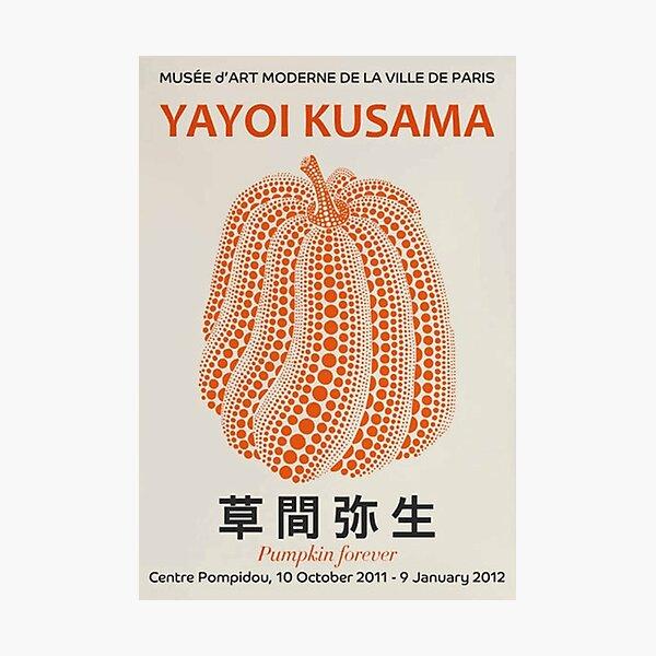 Yayoi Kusama - Pumpkin Photographic Print