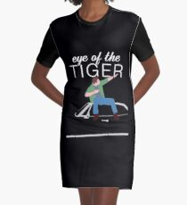Supernatural - Eye of the Tiger Graphic T-Shirt Dress