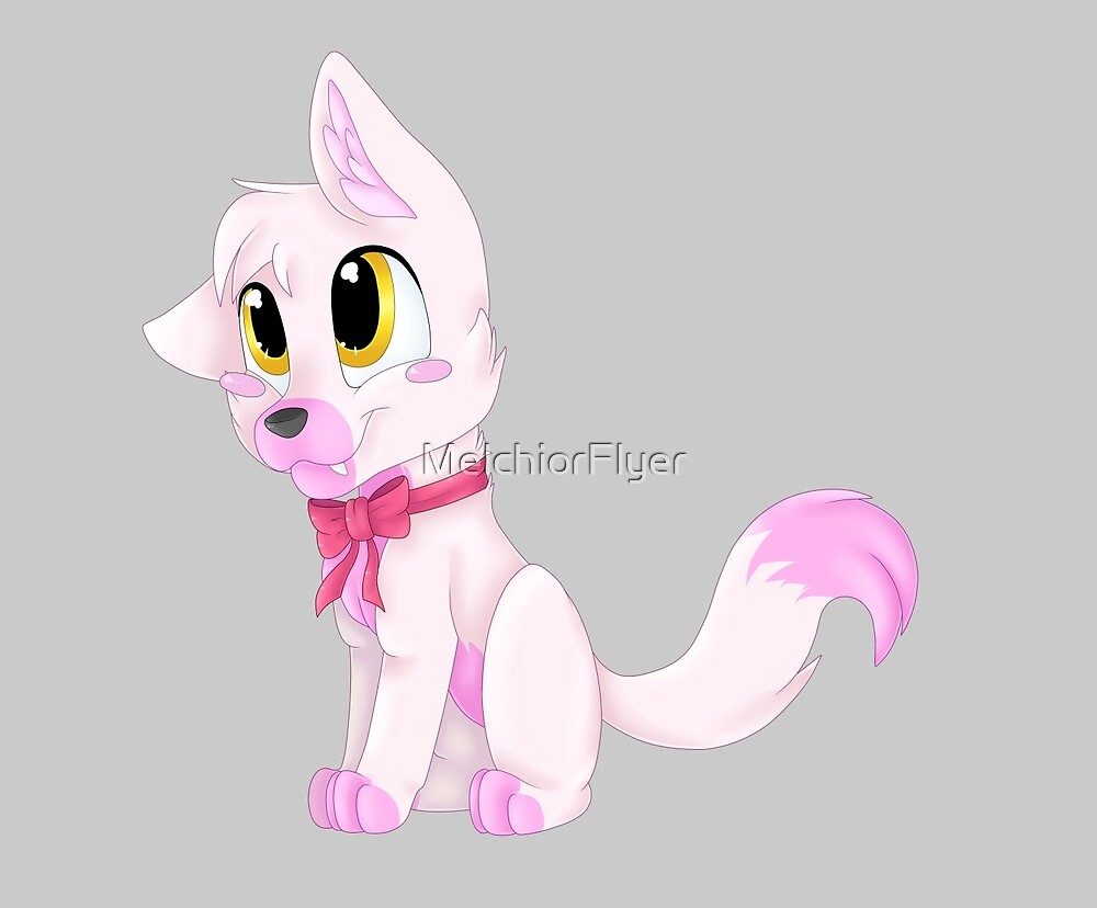 Quot Adorable Pink Fox Fnaf Mangle Quot By Melchiorflyer Redbubble