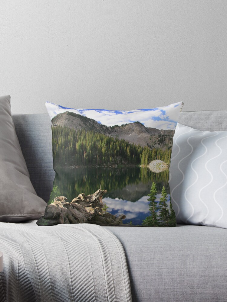 Hidden Beauty Throw Pillow and Tote Bag by Gene Praag