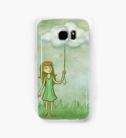 Cloud on a string Samsung Galaxy Case/Skin