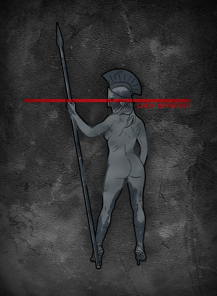 Lady Spartan by popnerd