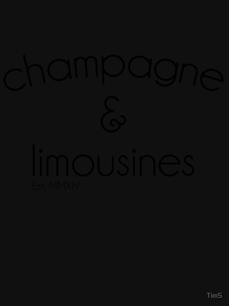 champagne & limousines by TimS