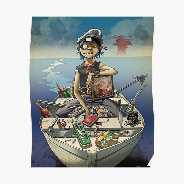 Gorilaz - potrait men Poster