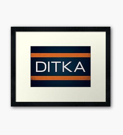 Ditka Framed Print
