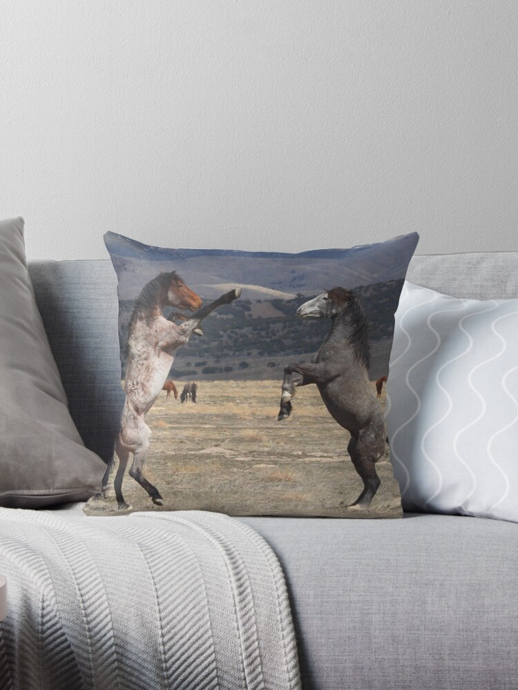Standing Tall Throw Pillow & Tote Bag by Gene Praag