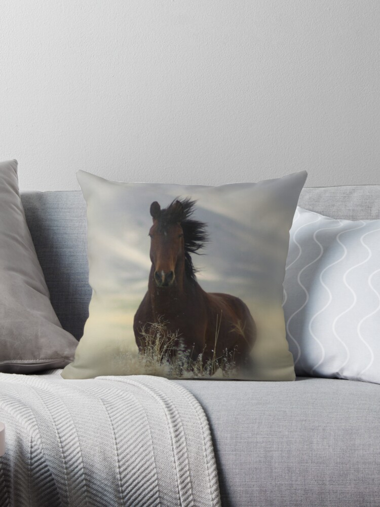 Iconic Throw Pillow & Tote Bag by Gene Praag