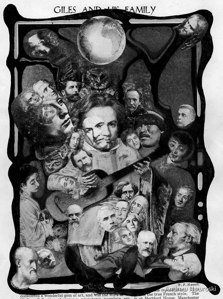 Happy Shadow Families by Andrew Nawroski