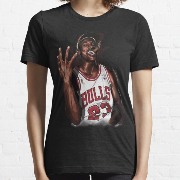 Vintage Michael Jordan Three Peat  Essential T-Shirt
