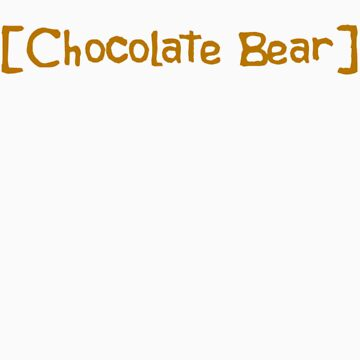 Scrubs Chocolate Bear T-Shirt by TMurney