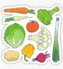 Eat Your Veggies! Sticker