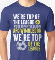 AFC Wimbly Wombys - Top of the League T-Shirt