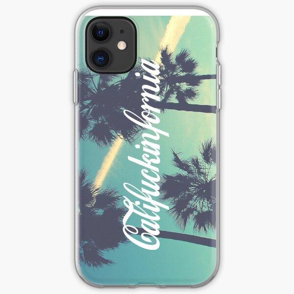 CALIFUCKINFORNIA iPhone Soft Case