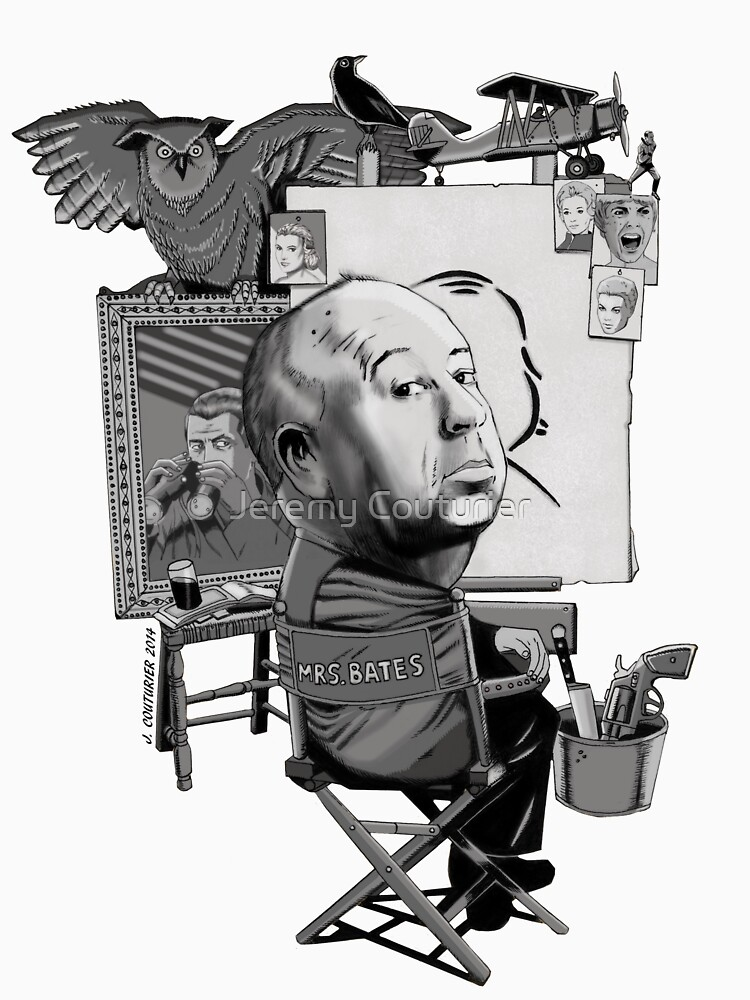 Alfred Hitchcock by JeremyCouturier