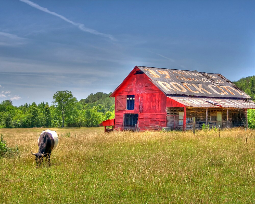 Red Barn by troxeld
