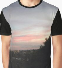 Pink Sky Graphic T-Shirt