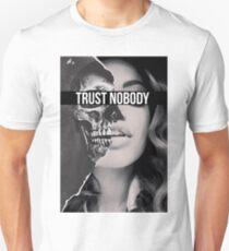 TRUST NOBODY Unisex T-Shirt