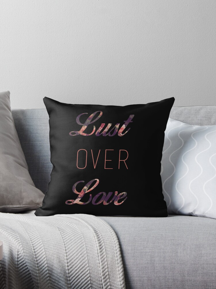 Lust Over Love -black by Aaliyah Rivera