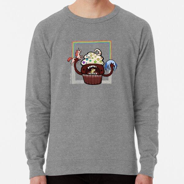 Cupcake :: Carnivorous Foods Series Lightweight Sweatshirt