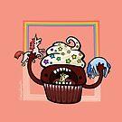Cupcake :: Fleischfressende Nahrungsmittelserie von missdaisydee