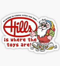 Hills is where the toys are! Sticker