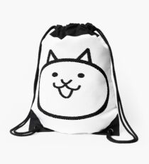 Battle Cat Drawstring Bag