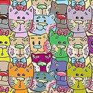 Cats Puppies & Teddies  by CroDesign