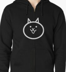 Battle Cat Dark Zipped Hoodie