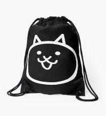 Battle Cat Dark Drawstring Bag