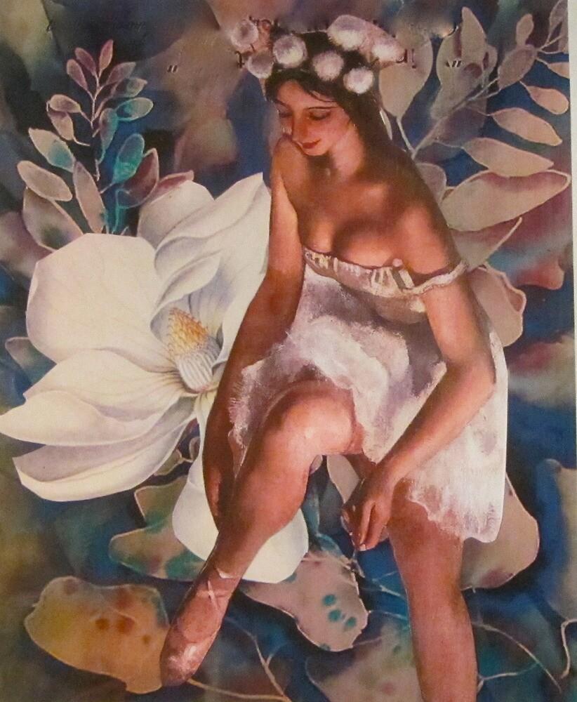 Danseuse Dans Les Bois by Kanchan Mahon