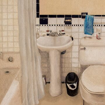 The Bathroom by Stymie